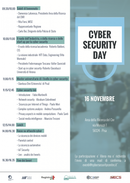 Cybersecurity Day - November 16th 2017 Programma provvisorio.png